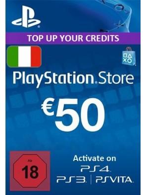 PlayStation Network (PSN) Card - 50 EUR (Italy)