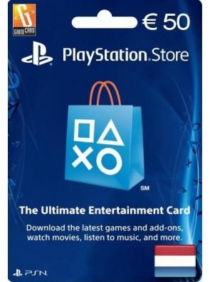 PlayStation Network (PSN) Card - 50 EUR (Netherlands)