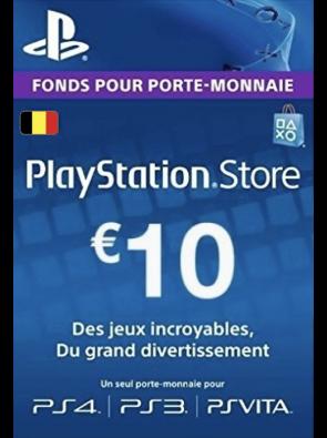 PlayStation Network (PSN) Card - 10 EUR (Belgium)