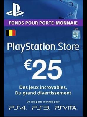 PlayStation Network (PSN) Card - 25 EUR (Belgium)