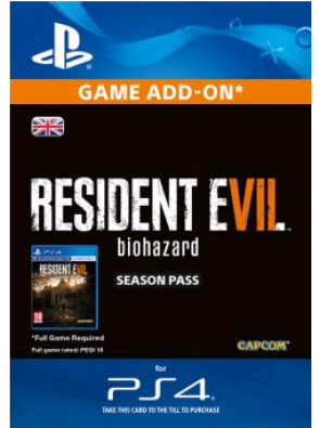 Resident Evil 7 - Biohazard Season Pass PS4
