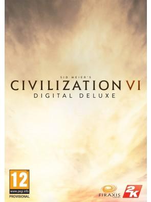 Sid Meier's Civilization VI 6 Digital Deluxe PC (Global)