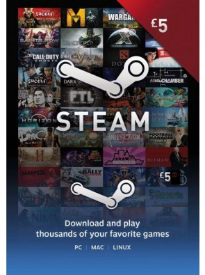 Steam Wallet Top-up 5 EUR