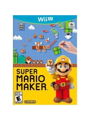 Super Mario Maker Nintendo Wii U - Game Code