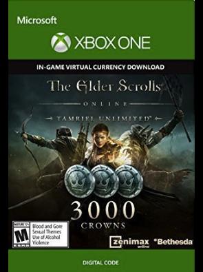 The Elder Scrolls Online Tamriel Unlimited 3000 Crowns Xbox One - Digital Code