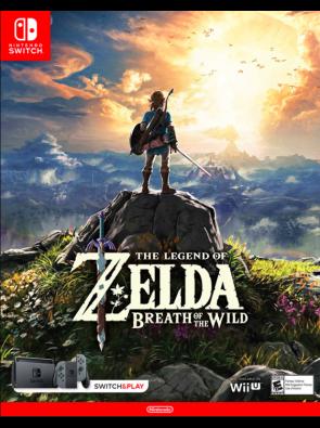 The Legend of Zelda - Breath of the Wild Switch