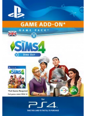 The Sims 4 Dine Out PS4