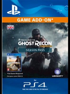 Tom Clancys Ghost Recon Wildlands Season Pass PS4