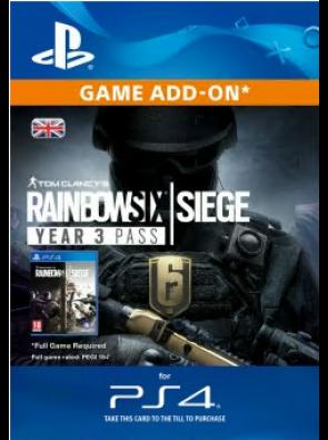 Tom Clancys Rainbow Six Siege: Year 3 Pass PS4
