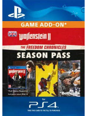 Wolfenstein II: The Freedom Chronicles Season Pass PS4