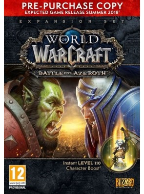 World of Warcraft (WoW) Battle for Azeroth - Pre-Purchase PC (EU)