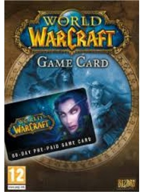 World of Warcraft 60 Day Pre-paid Game Card PC/Mac