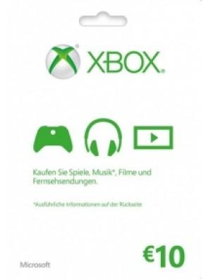 Microsoft Gift Card - 10 Euro (Xbox One/360)
