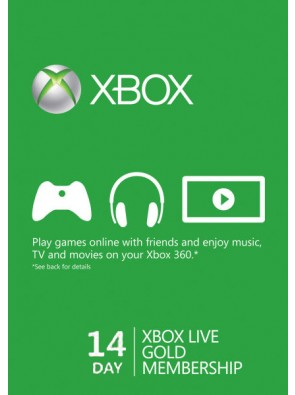 14 Day Xbox Live Gold Trial Membership (Xbox One/360)