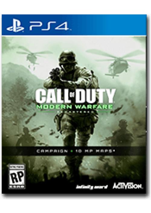Call of Duty (COD) Modern Warfare Remastered PS4 - Digital Code