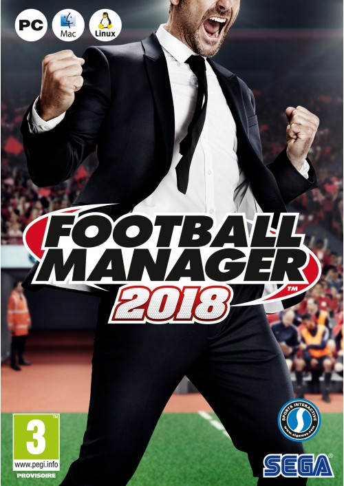 Football Manager (FM) 2018 PC/Mac