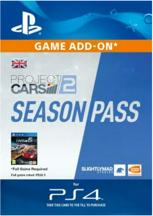 Project CARS 2 Season Pass PS4