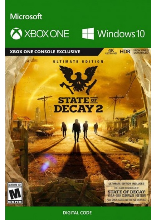 State of Decay 2 Ultimate Edition Xbox One/PC