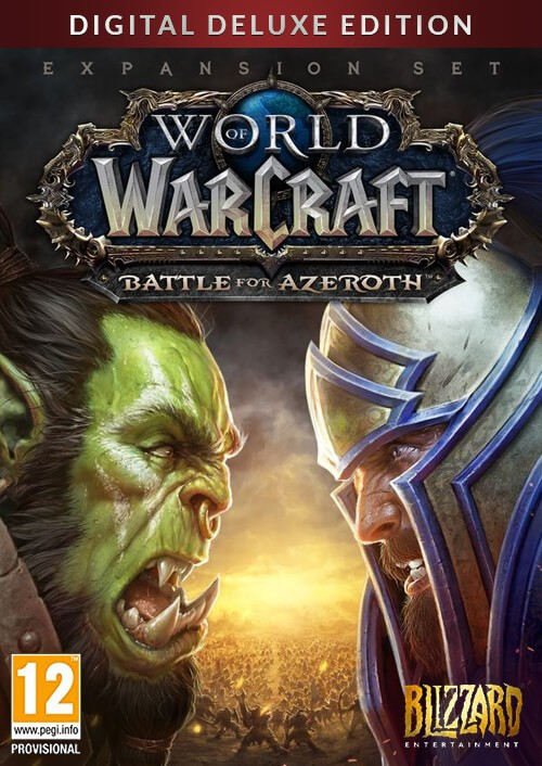 World of Warcraft Battle for Azeroth - Deluxe Edition PC (EU)