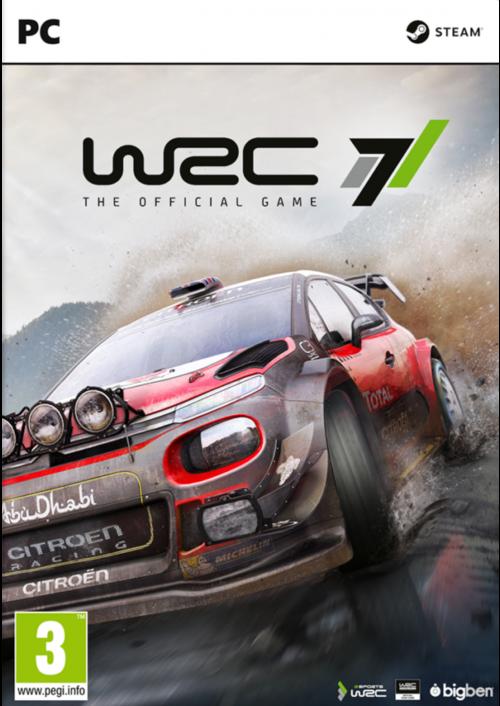 WRC 7 World Rally Championship PC