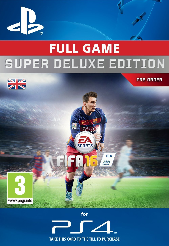 Fifa 16 Super Deluxe Ps4