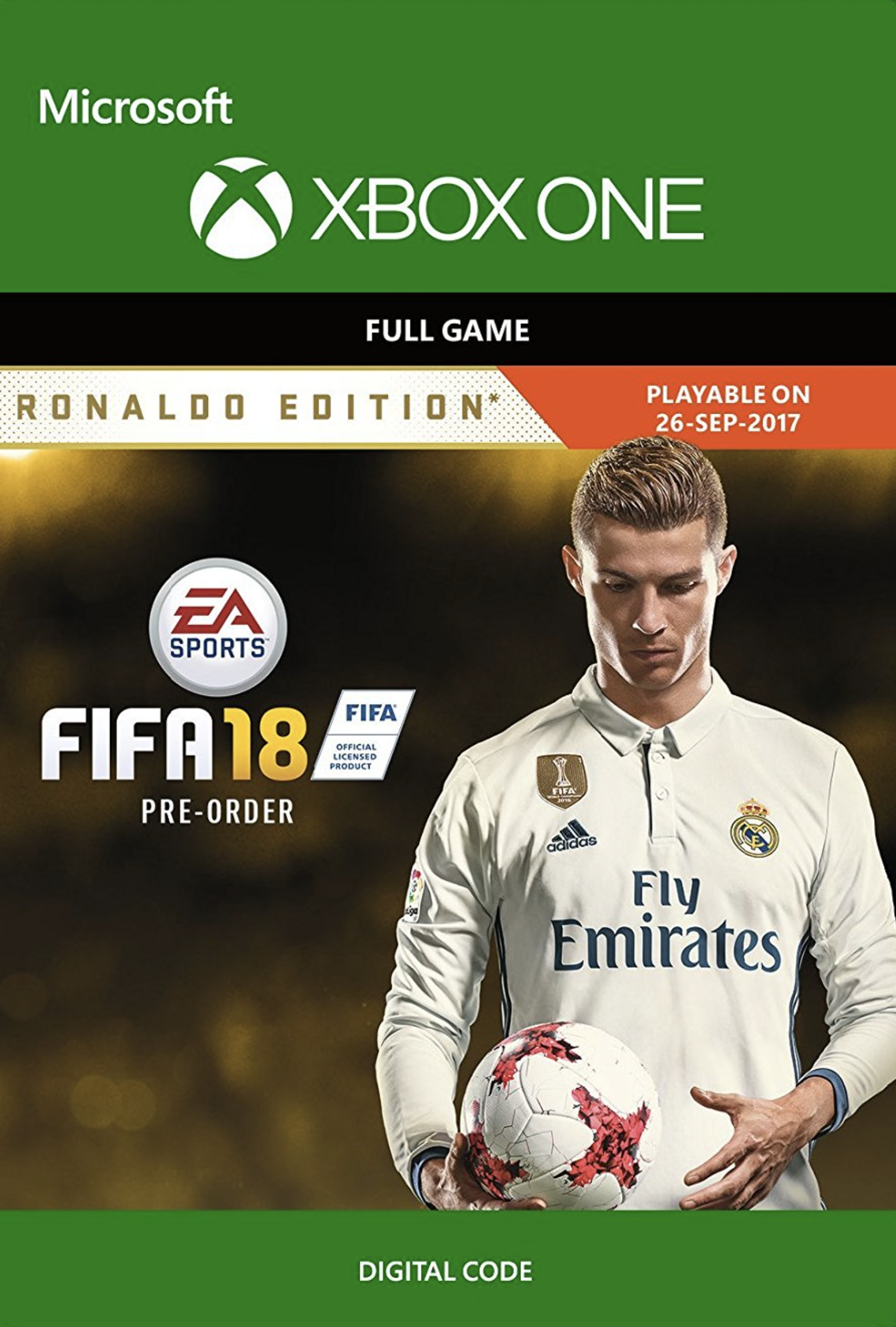 FIFA 18: Ronaldo Edition (Xbox One)