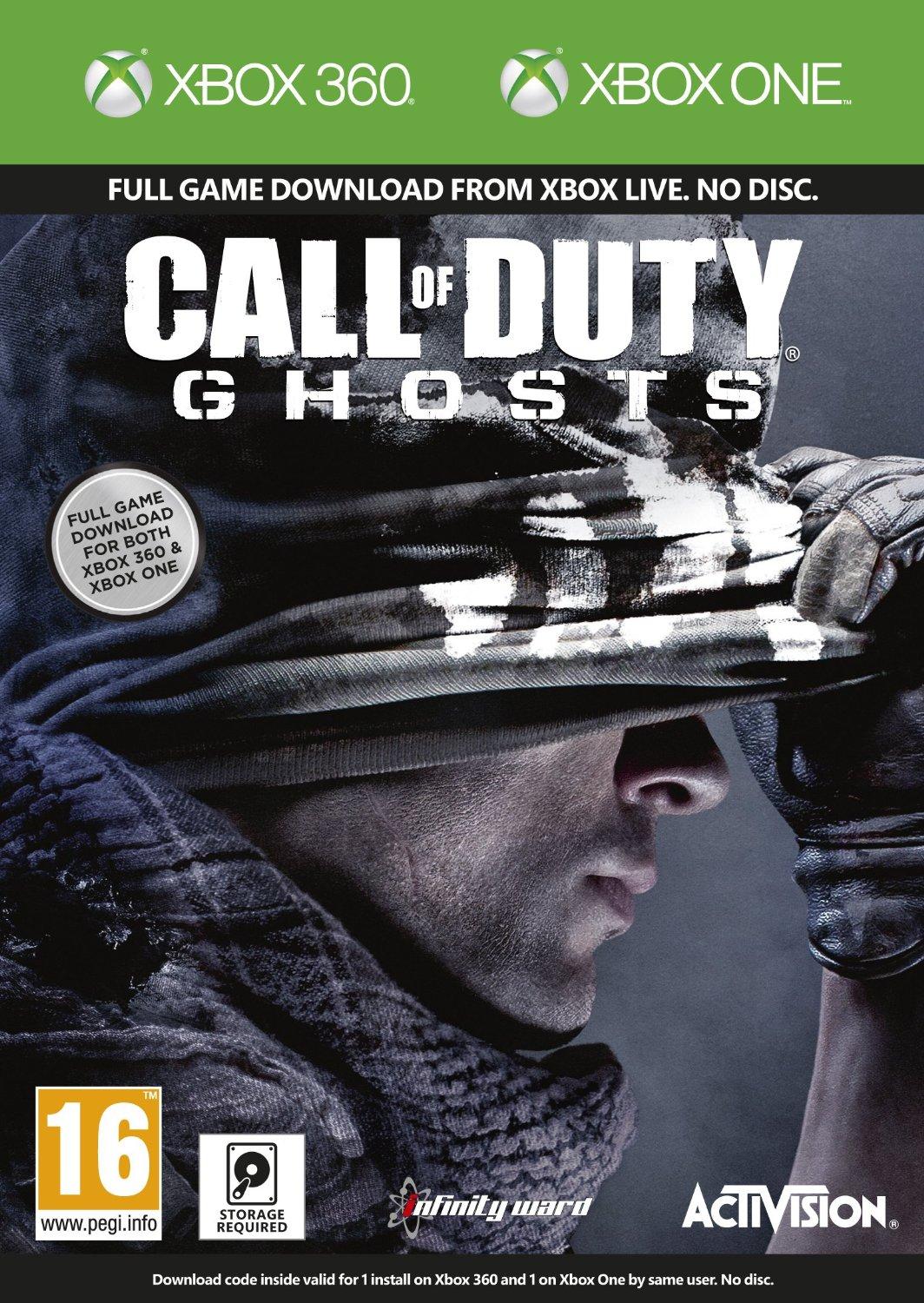 Cheapest price to Buy Call Of Duty: Ghosts Xbox One / Xbox