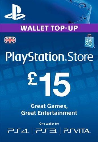 Playstation Network Card - £15