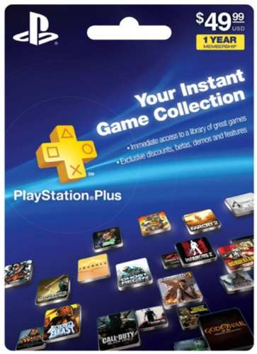 1-Year Playstation Plus Membership - Ps3/Ps4/Ps VIta Digital Code