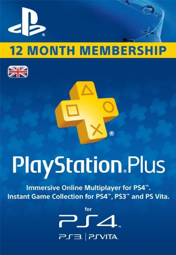 Playstation Plus - 12 Month Subscription