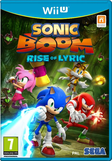 Sonic Boom: Rise Of Lyric Nintendo Wii U - Game Code