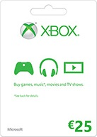 Microsoft Gift Card - 25 Euro