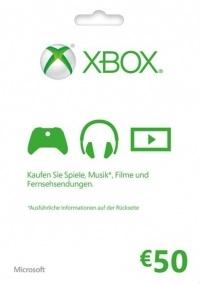 Microsoft Gift Card - 50 Euro