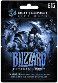 Battlenet 15 GBP Gift Card