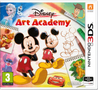 Disney Art Academy 3DS - Game Code