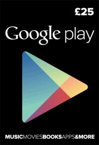 Google Play Gift Card £25 GBP