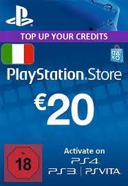 PlayStation Network (PSN) Card - 20 EUR (Italy)