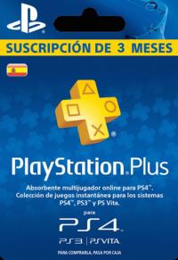 PlayStation Plus - 3 Month Subscription (Spain)