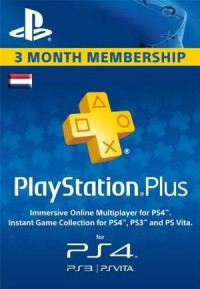 Playstation Plus - 3 Month Subscription (Netherlands)