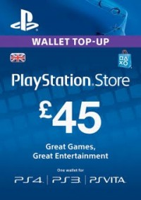 Playstation Network (PSN) Card - 45 GBP