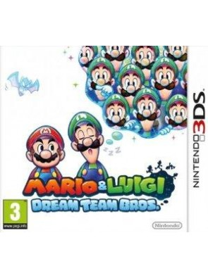 Mario and Luigi: Dream Team Bros. 3DS
