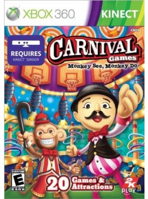 Carnival Games Monkey See Monkey Do-Nla (Xbox 360)