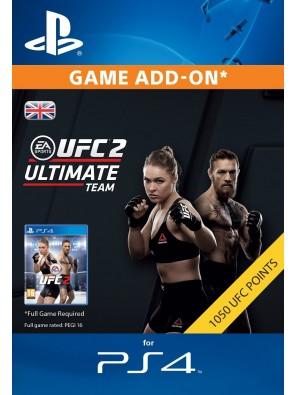 UFC 2 - 1050 Points PS4