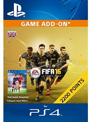 2,200 FIFA 16 Points PS4 PSN Code - UK account