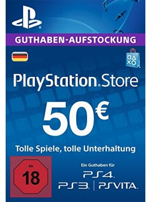 PlayStation Network (PSN) Card - 50 EUR (Germany)