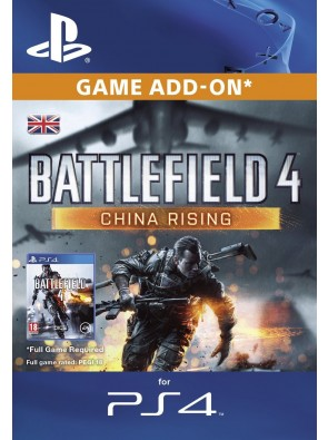Battlefield 4 China Rising DLC PS4