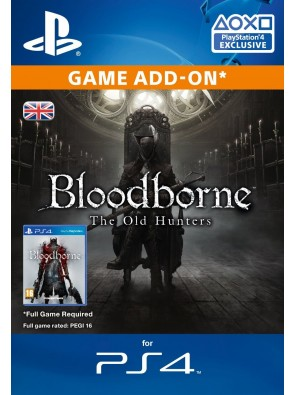Bloodborne The Old Hunters DLC PS4