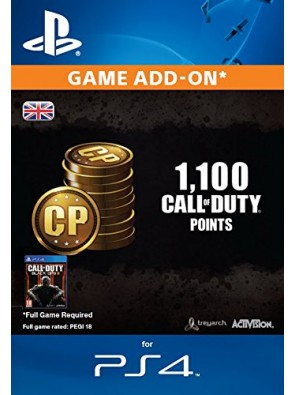 Call of Duty Black Ops III 3 Points 1000 (+100) PS4