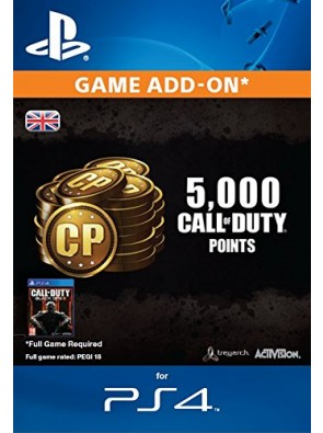 Call of Duty Black Ops III 3 Points 4000(+1000) PS4