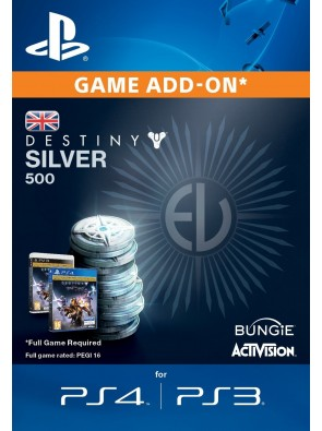 Destiny Silver 500 PS3/PS4